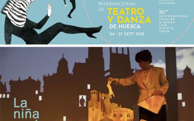 """""""La niña azul"""" seleccionada por la Feria Internacional de Teatro y Danza de Huesca"""