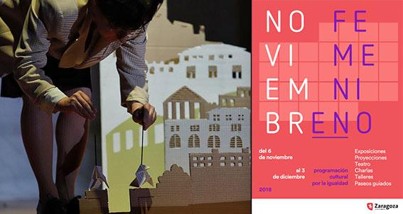 Noviembre| De gira por Huesca, Zaragoza y Tenerife en castellano e inglés