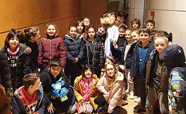 La niña azul en el Forum Metropolitano