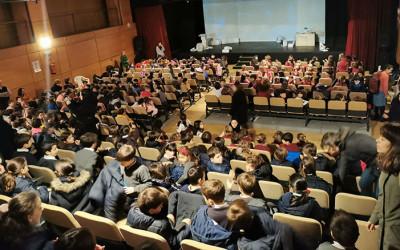"""""""La niña azul"""" congrega a 1400 personas en A Coruña"""