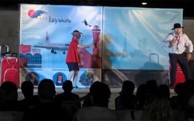 """Entradas agotadas en las 3 funciones de """"Aerolíneas"""" en Huesca"""
