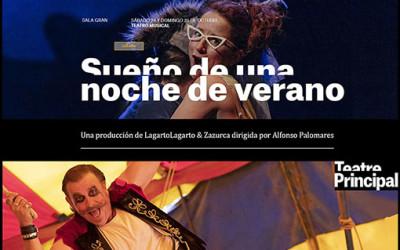 """""""Sueño de verano"""" llega al Teatre Principal de Palma"""