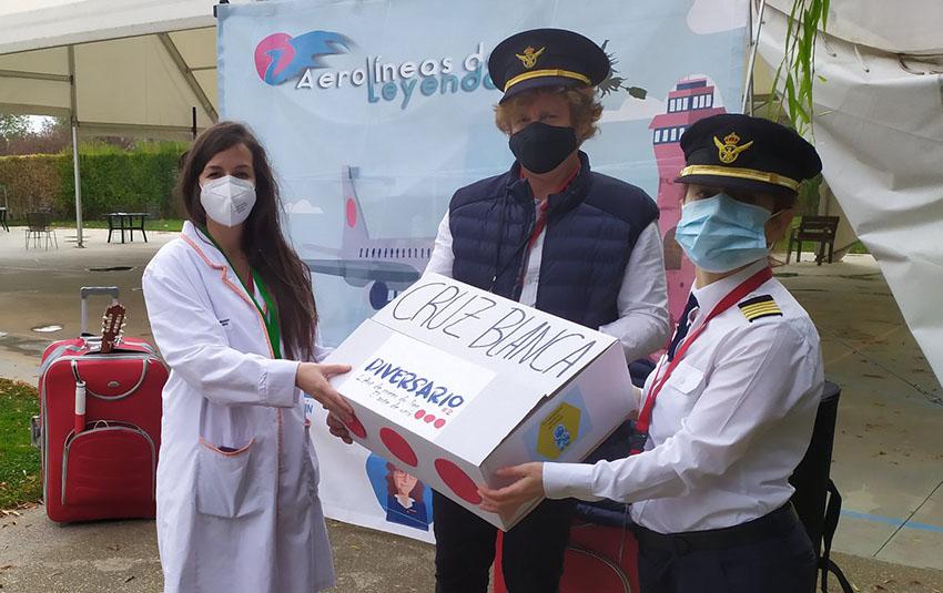 """""""Aerolíneas de Leyenda"""" lleva el Festival Diversario hasta 10 centros asociados a CADIS Huesca"""